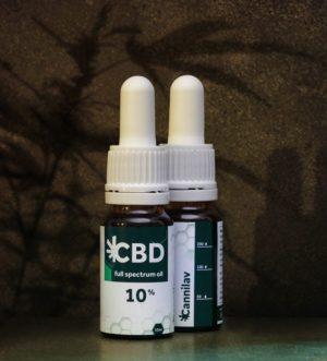 Full spectrum CBD olej 10% </p>